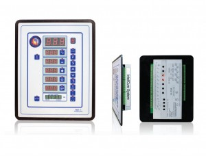 Accudraft SmartPad Paint Booth Control Panel