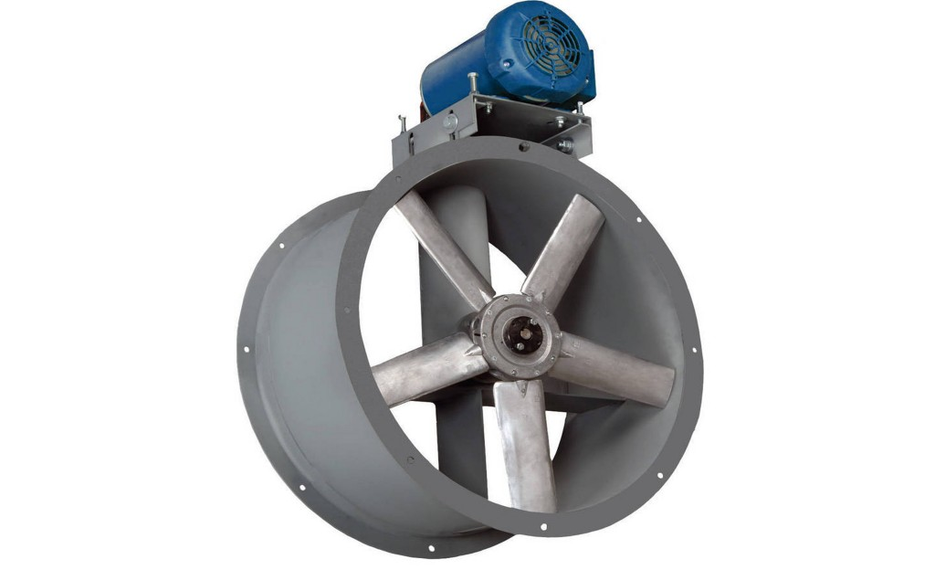 Tube-Axial-Fan-&-Motor for Paint Booths