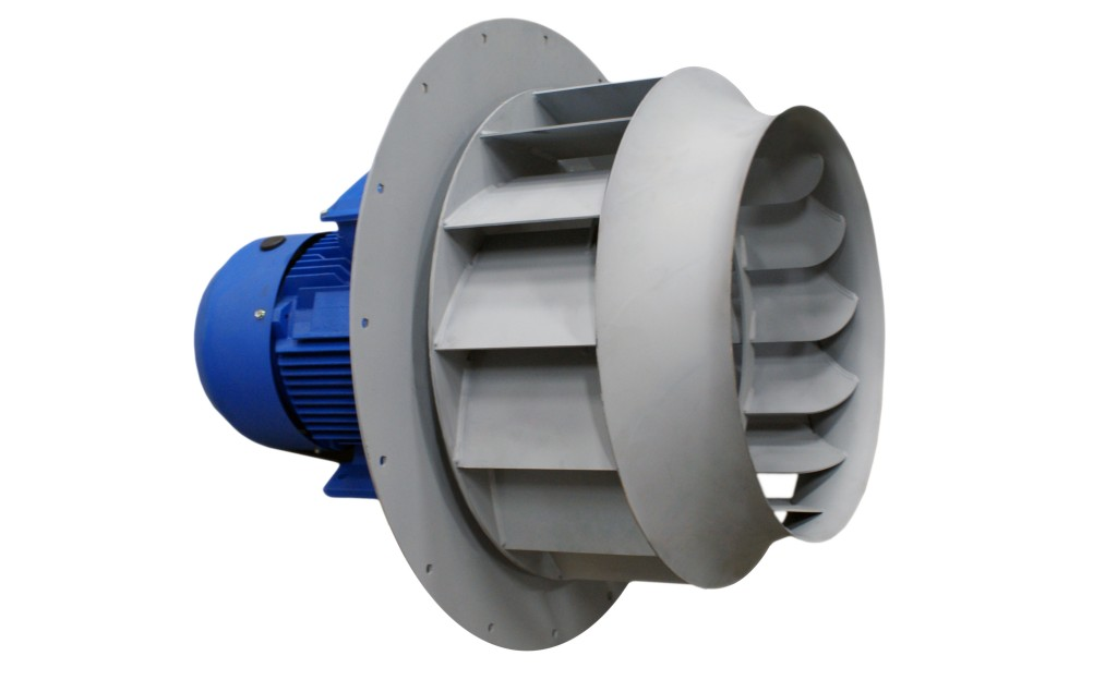 Direct Drive Turbine for Paint Booth
