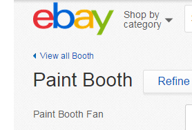 Used-paint-booth-for-sale ebay