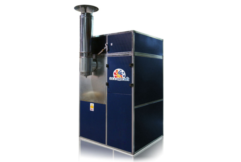 Accudraft Indirect Fired Paint Booth Heater with Heat Exchanger