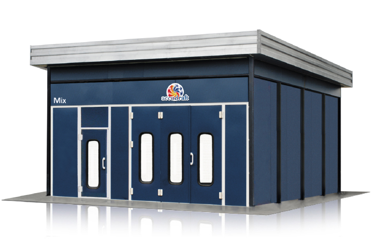 Accudraft-Outdoor-Paint-Booth-with-Side-Enclosure-755x500