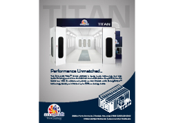 TITAN-Downdraft Waterborne Paint Booth Specification