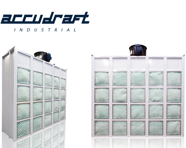 Accudraft Industrial Filtered Exhaust Wall System