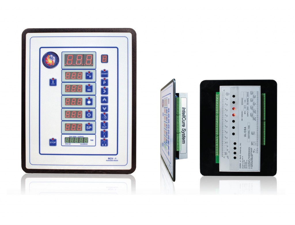Paint Booth Smart Control Panel