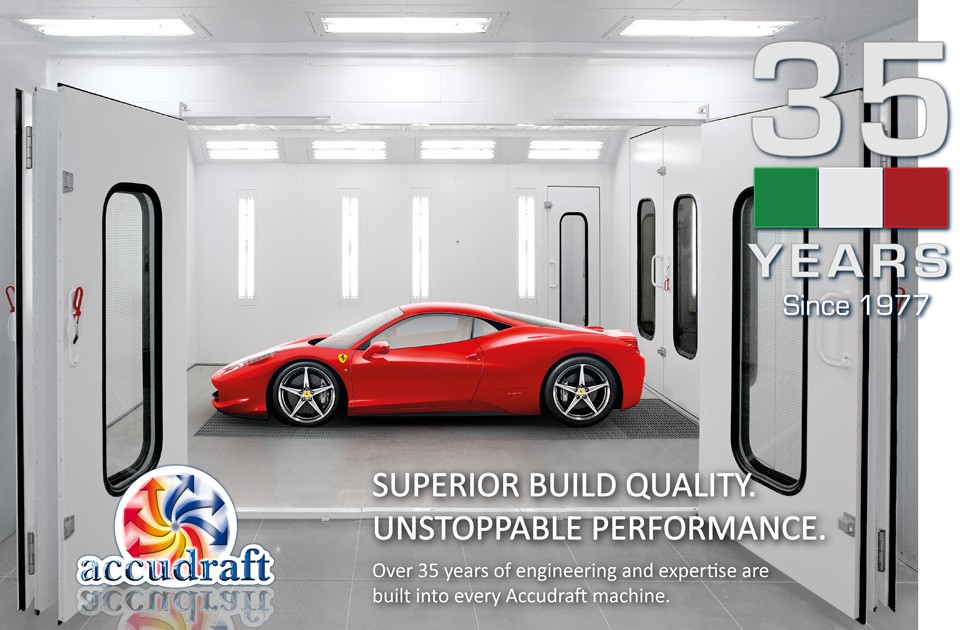 Quality Paint Booths by Accudraft
