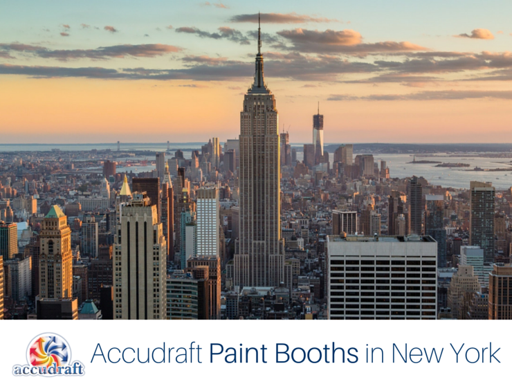 Accudraft Paint Booths in New York