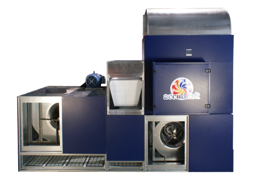 Accudraft KD 560/630R paint booth air makeup system