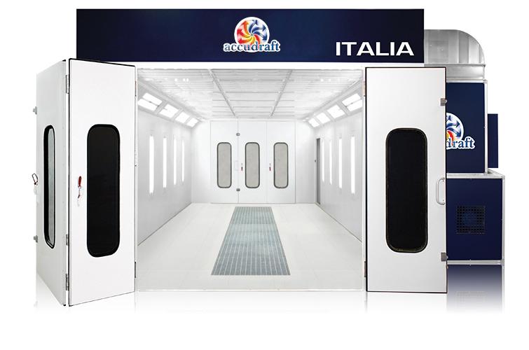 Rooms: ITALIA Downdraft Paint Booth