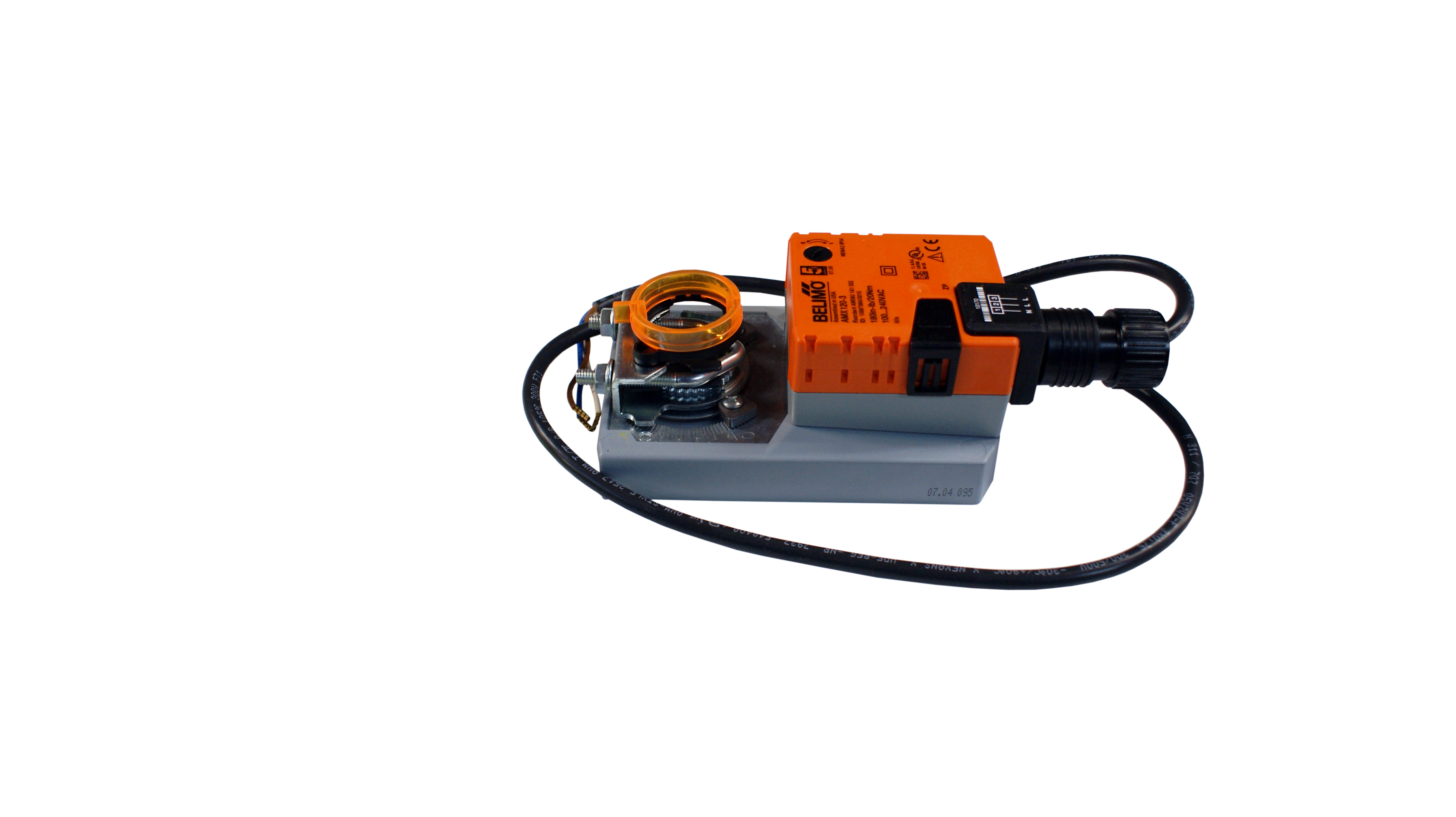 Actuator Motor 110 V 240 V Exhaust Damper Motor Replacement For Sm110 For Paint Booth Accudraft