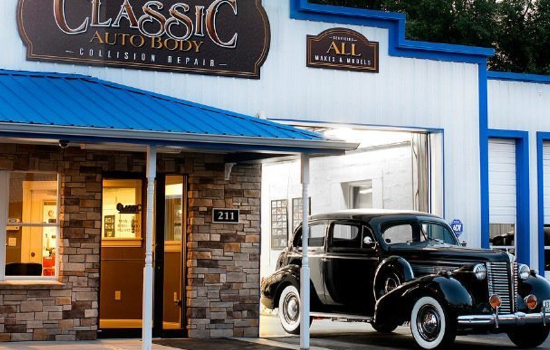 Classic Auto Body case study by Accudraft