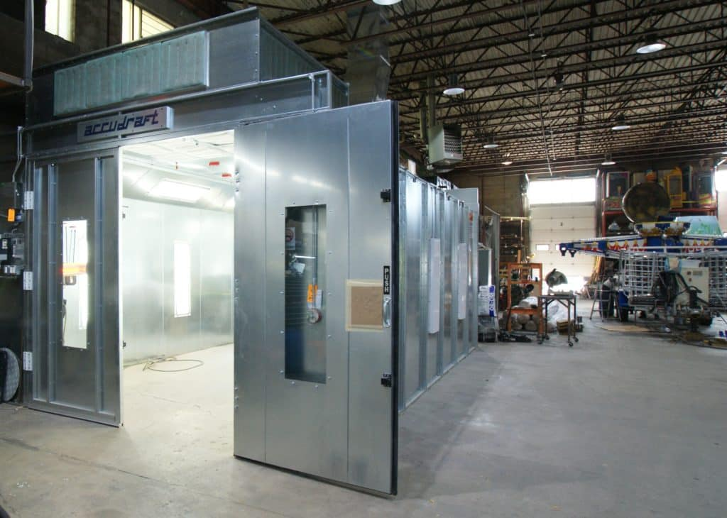 Zamperla Paint Booth