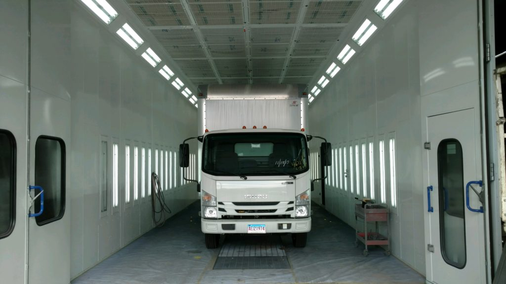 Barnick's Truck & Equipment - Accudraft Paint Booths Case Study