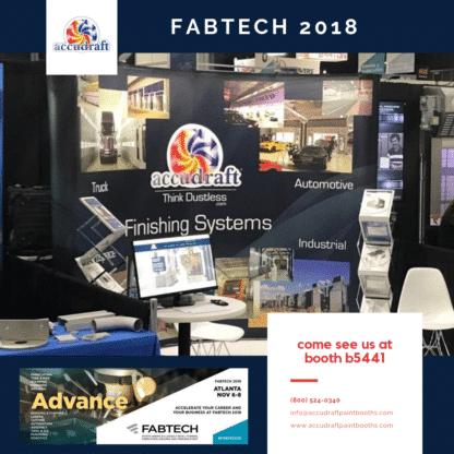 FABTECH 2018 - Accudraft Paint Booths