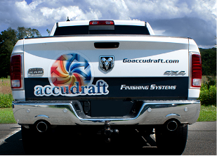 Accudraft truck for emergency repair services
