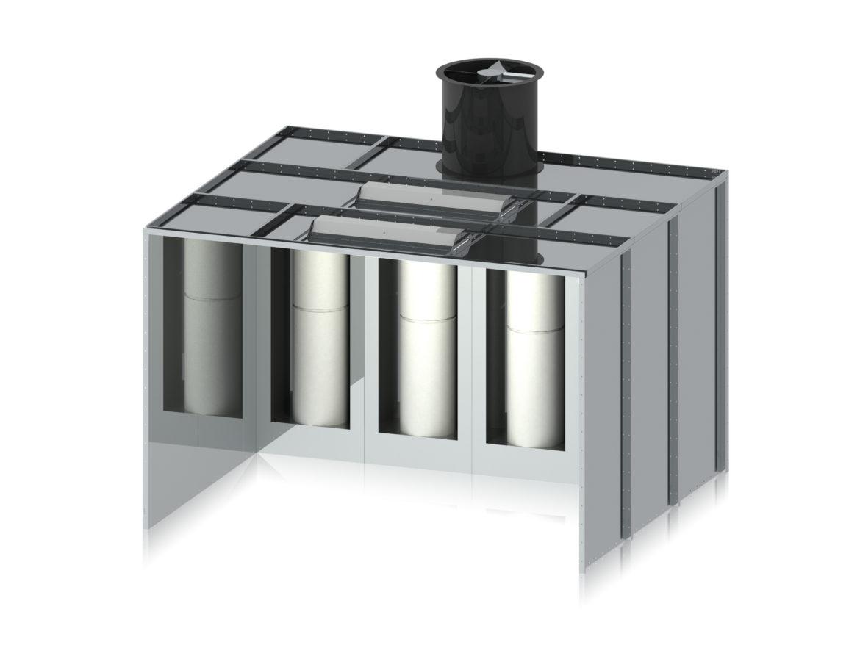 Powder application equipment