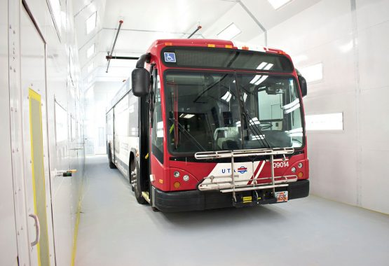 How Bus Painting Operations Can Use Finishing Applications
