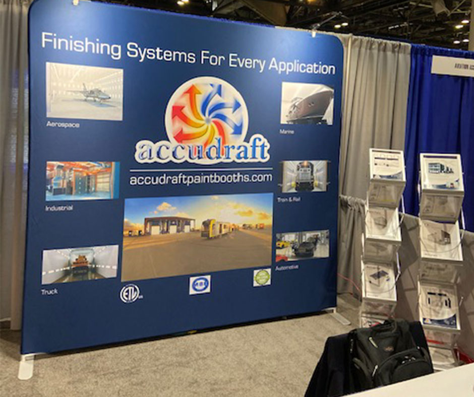 MRO Americas 2021 Event - Accudraft Paint Booths