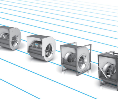 2 Types of Automotive Paint Booth Exhaust Fans