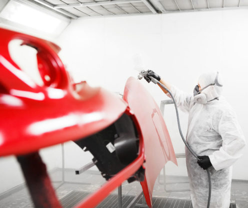 Paint Booth Overspray Removal – Here's What You Need