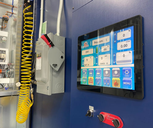 Connected Paint Booth Data – 5 Key Features